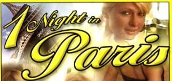 1 night in Paris Porno Cover with Paris Hilton