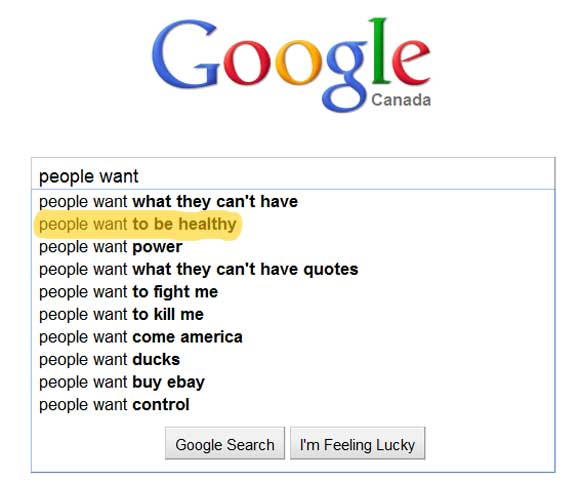 Google What People Want