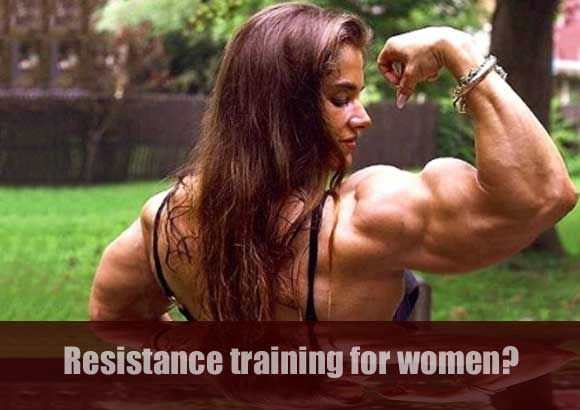 female bodybuilder Will Weight Training Make Me Huge?