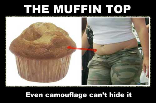 The Muffin Top How to Lose Weight in Just Seven Days?