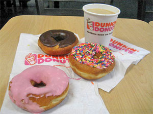 dunkin donut 5 Stupid Weight Loss Ideas….That WORK