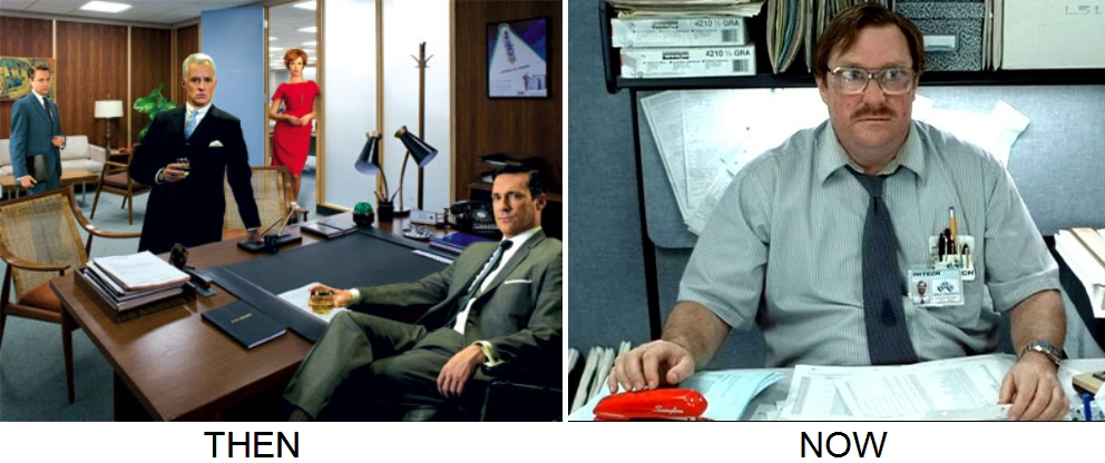 office sexy vs office obesity Is Your Job Making You Fat?