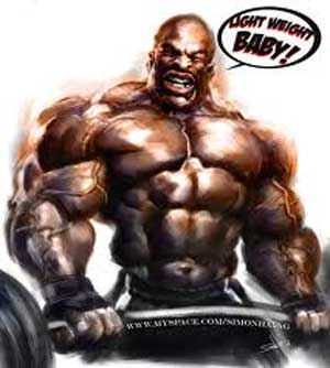 ronnie coleman Strive for Strength Not for Bulk