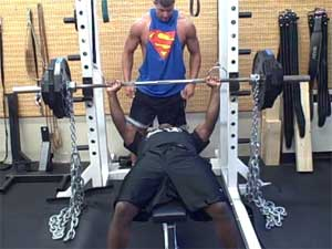 bench press chains Get Greater Strength Gains with Chains