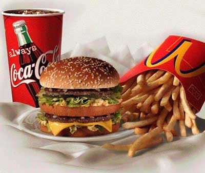 "mcdonalds burgers and fries How to Say ""NO"" To Junk Food – 6 Easy Tips for Better Eating Habits"