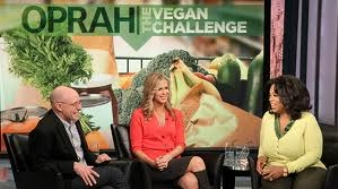 oprah the vegan challenge Oprah Goes Vegan....for a week.