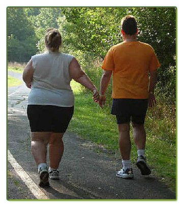 fat couple obese obesity marriage husband wife