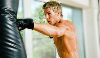 bag punching workout Nice Arms: Can Punching a Bag Offer the Same Benefit as Extensive Weight Training?