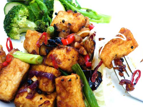 Pepper Tofu Recipe