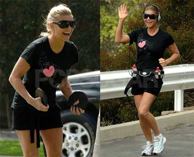 fergie exercising Can Exercise Cure Substance Abuse?