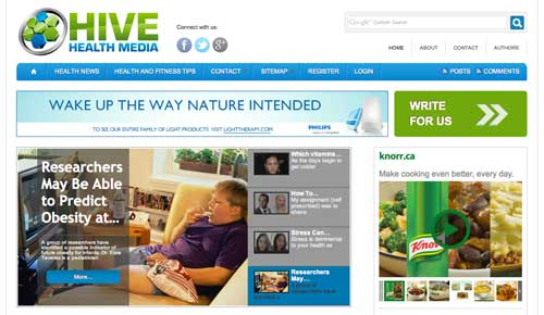 Hive Health Media Website Hive Health Media Launches New Website Design