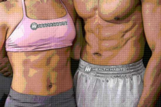 healthhabits fit couple web Lose Weight with Natural Metabolism Boosters