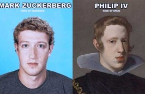 Mark Zuckerberg Looks Like Philip IV