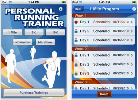 Personal running trainer review