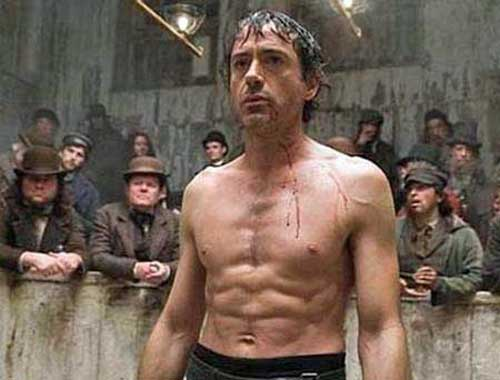robert downey jr six pack Debunking the Ab Exercise for Fat Loss Approach