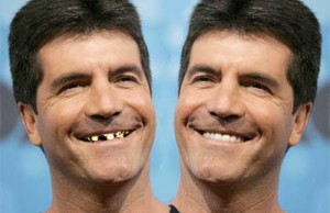 Simon Cowell Bad Teeth and Stinky Breath