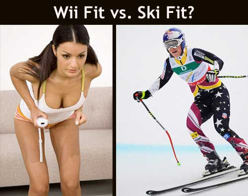 wii fit vs. ski fit From Wii Fit to Ski Fit