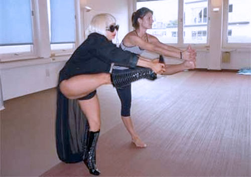 Lady Gaga Yoga 5 Yoga Poses for Fat Loss