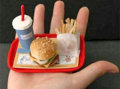 Portion Control for Fast Food