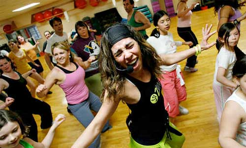 Zumba Have Fun Shaking Off Post Holiday Weight at Your Local Gym