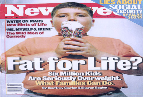 Fat for Life Newsweek Cover