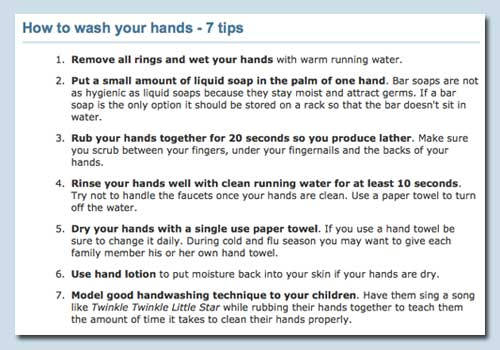 how to wash your hands Norovirus Outbreak Causes Mass Hospital Ward Closures