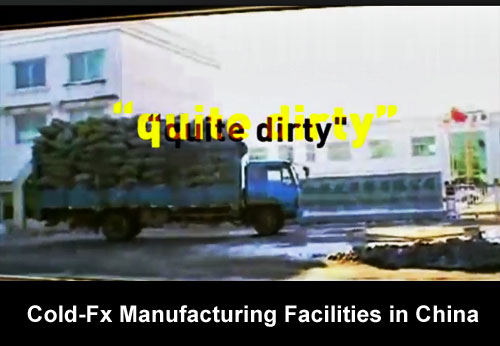 Cold Fx Manufacturing Facilities in China CBC Finds Cold FX May Not Work as Claimed