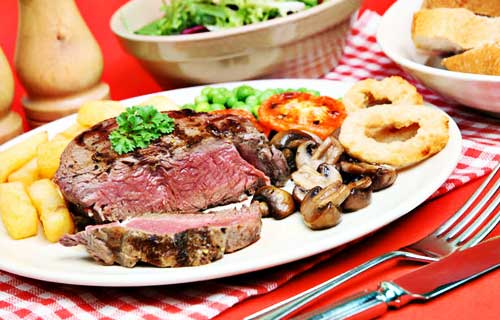 Red Meat and Low Cholesterol Diet