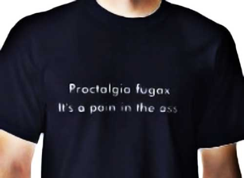Proctalgia Fugax - Rectal Pain in the Butt