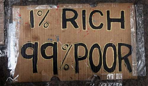 one percent rich Health Care Economics:  1 Percent Versus the 99 Percent