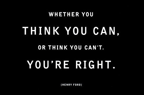 think positive henry ford 10 Top Tips for a Healthy Mind and Body