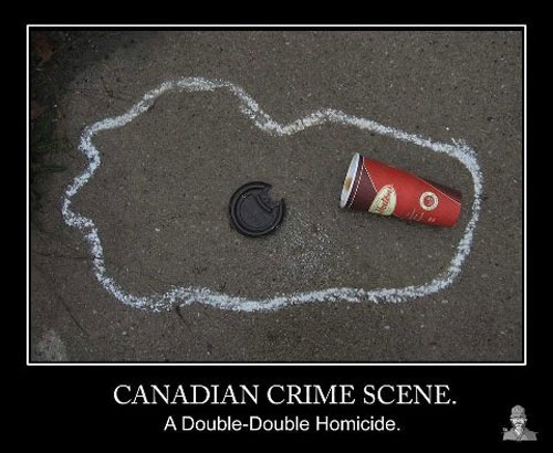 Tim Horton's Coffee Humor - Double Double