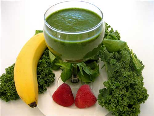 Green Smoothies: Anti-Aging Effects