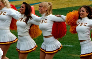 Cheerleader USC fitness