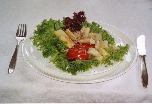 Salad - ideal pre-fasting food