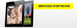 Men's health magazine on the iPhone